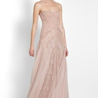 BCBGMAXAZRIA - WHAT'S NEW: MORIZA STRAPLESS GOWN