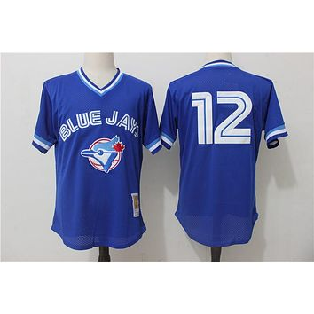 Mitchell & Ness Roberto Alomar Toronto Blue Jays Cooperstown Collection Mesh Batting Practice Jersey - Royal Blue