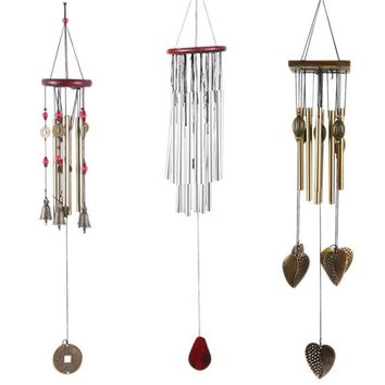 Outdoor Garden Yard Home Living Wind Chimes Windchimes Copper Good Gifts