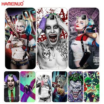 HAMEINUO suicide squad Joker harley quinn Margot Robbie cover phone case for Samsung Galaxy J1 J2 J3 J5 J7 MINI ACE 2016 2015