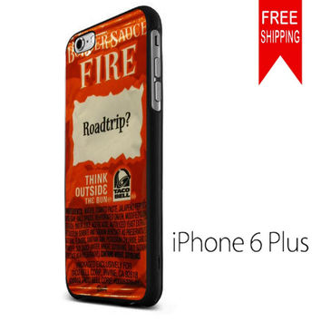 Taco bell sauce packet TM iPhone 6 Plus Case