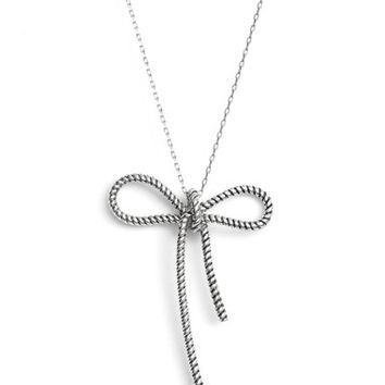 MARC BY MARC JACOBS Rope Bow Pendant Necklace | Nordstrom