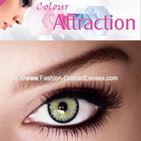 Color Attraction Chrysolite Contact Lenses