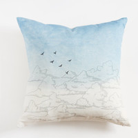 Indigo Dyed Sky Pillow cover
