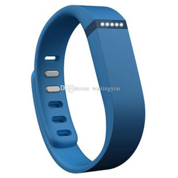 DHL shipping Fitbit Flex Wristband Wireless Activity Sleep Bracelet Distance Monitor Tracker Wrist Band for iPhone iOS Android goodbiz