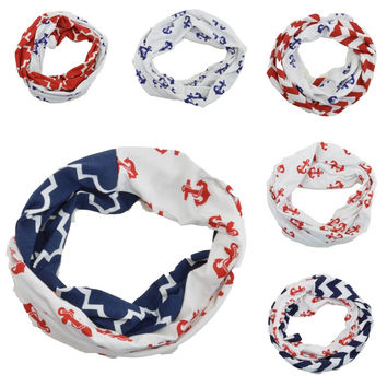 Infinity Scarf Women's Girls Baby Lightweight Jersey Circle Loop Print