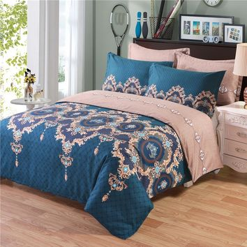Comforter Bedding Sets Bed Pillow Duvet Cover Set Single/Double/King Size Family Adults Children cotton satin Quilted