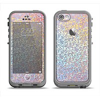 The Colorful Confetti Glitter Sparkle Apple iPhone 5c LifeProof Fre Case Skin Set