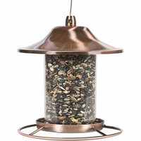 Perky-Pet Copper Panorama Bird Feeder at Tractor Supply Co.