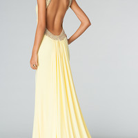 Floor Length Sleeveless JVN by Jovani Dress