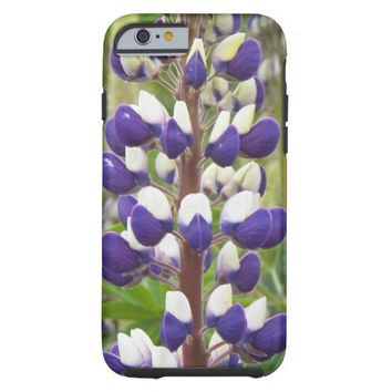 Lupine Floral Tough iPhone 6 Case