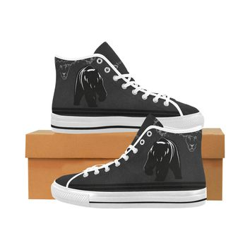 Black Bear Men's Vancouver High Top Canvas Sneakers
