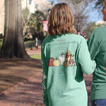 Pumpkin Wishes Long Sleeve Tee by Lily Grace