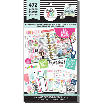 Create 365™ The Big Happy Planner™ Memory Planning Value Pack Stickers