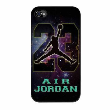 Nike Air Jordan Galaxy Nebula Star iPhone 4 Case