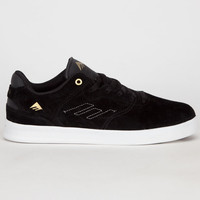Emerica The Reynolds Low Mens Shoes Black/White/Gold  In Sizes