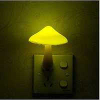Kids Bedroom Cute Mushroom Light-controlled Sensor LED Night Light Lamp