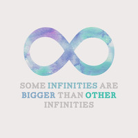 The Fault in Our Stars: Infinities Art Print by lsmyang