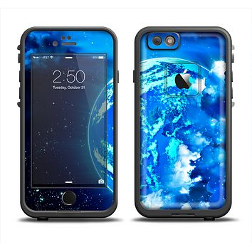 The Glowing Cloudy Planet Apple iPhone 6 LifeProof Fre Case Skin Set