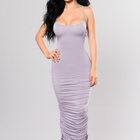 Past & Present Dress - Lavender