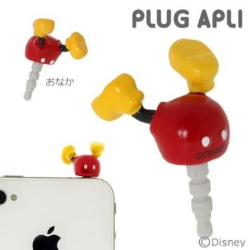 Plug Apli Disney Character Earphone Jack Accessory (Mickey Legs)
