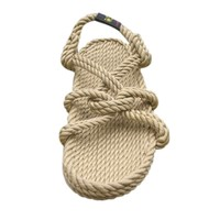 The mountain momma rope sandal in camel color