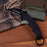 G10 Handle Fox Tactical Camping Knife Folding Camping Machete