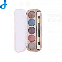 5 Color Fashion Eye Shadow Palette Cosmetics Colorful/ Diamond/Pearl Eyeshadow Makeup Naked Circular Colored Makeup Palette H59