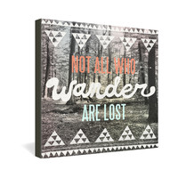 Wesley Bird Wander Gallery Wrapped Canvas