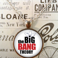 The Big Bang Theory Necklace, Science, Geek T676