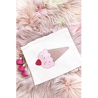 Ice Cream Charmed Pouch