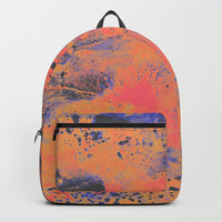 Disarm you with a smile Backpack by DuckyB