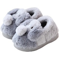 2017 Children's Cotton Slippers Warm Baby Slippers Boys And Girls Cute Children's Shoes Toddler Casual Shoes Flat Dog Slippers