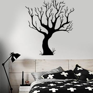 Vinyl Wall Decal Gothic Tree Bare Nature Style Room Art Stickers Unique Gift (1638ig)