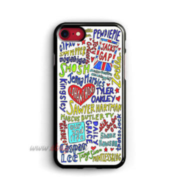 Youtubers Collage iPhone Cases Youtubers Samsung Galaxy Phone Cases iPod cover