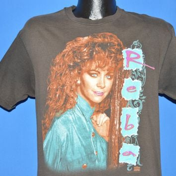 90s Reba McEntire 1993 Tour Date Country Music t-shirt Large