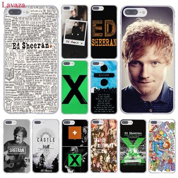 Lavaza Ed Sheeran Hard Coque Shell Phone Case for Apple iPhone 8 7 6 6S Plus X 10 5 5S SE 5C 4 4S Cover