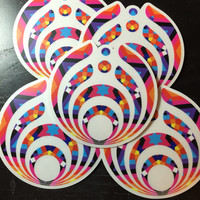 Bassnectar Geometric High Quality Sticker