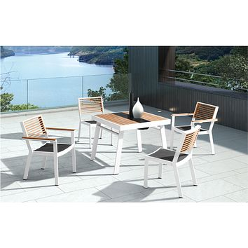 Outdoor Dining Set (4 Chairs) | Higold York