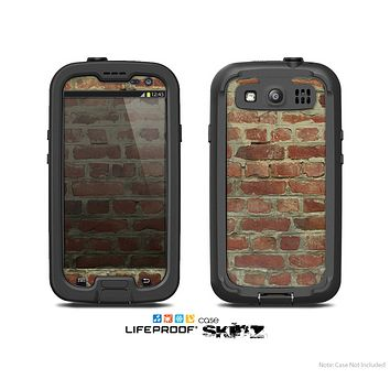 The Brick Wall Skin For The Samsung Galaxy S3 LifeProof Case