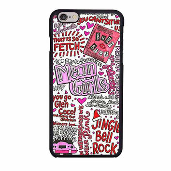 mean girls collage iphone 6 6s 4 4s 5 5s 5c cases