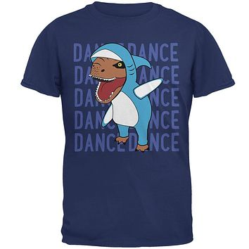 Halloween T-Rex Left Shark Costume Dance Mens T Shirt