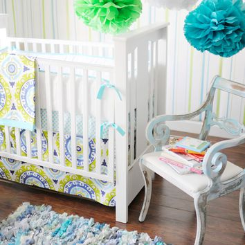 New Arrivals Indigo Summer Baby Bedding