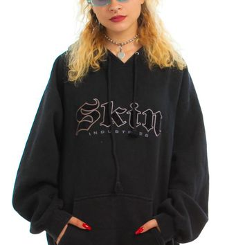 Vintage Y2K Show Some Skin Hoodie - One Size Fits Many