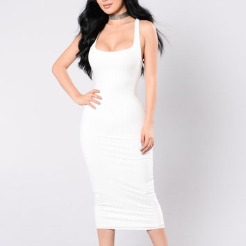 Rock With You Dress - Off White