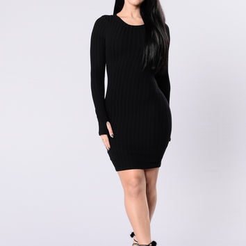 Dark Horse Dress - Black