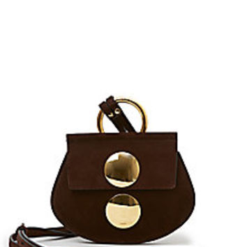 Chloé - Faye Mini Suede Crossbody Bag - Saks Fifth Avenue Mobile