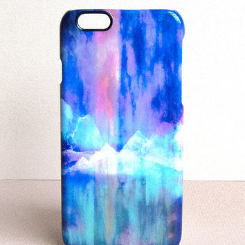 Northern Lights iPhone Case 5/5s/6 by Nikki Strange