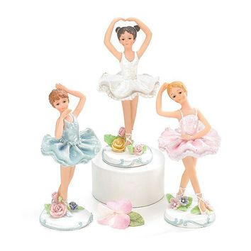 "5"" Ballerina Figurines"