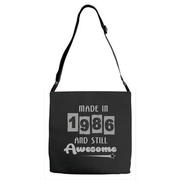 made in 1986 and still awesome Adjustable Strap Totes